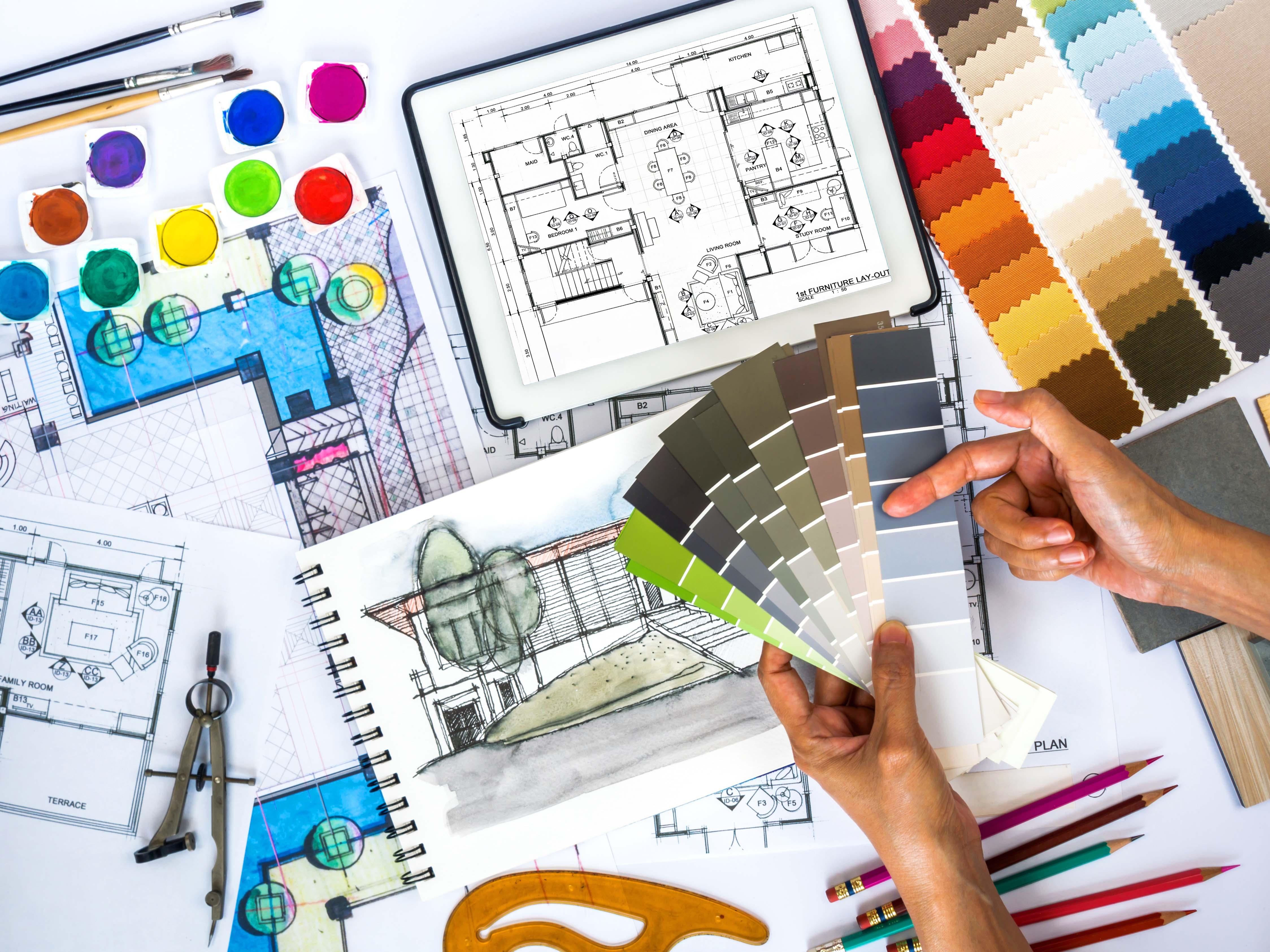 Metroquadro impresa edile for Interior decorating consultant